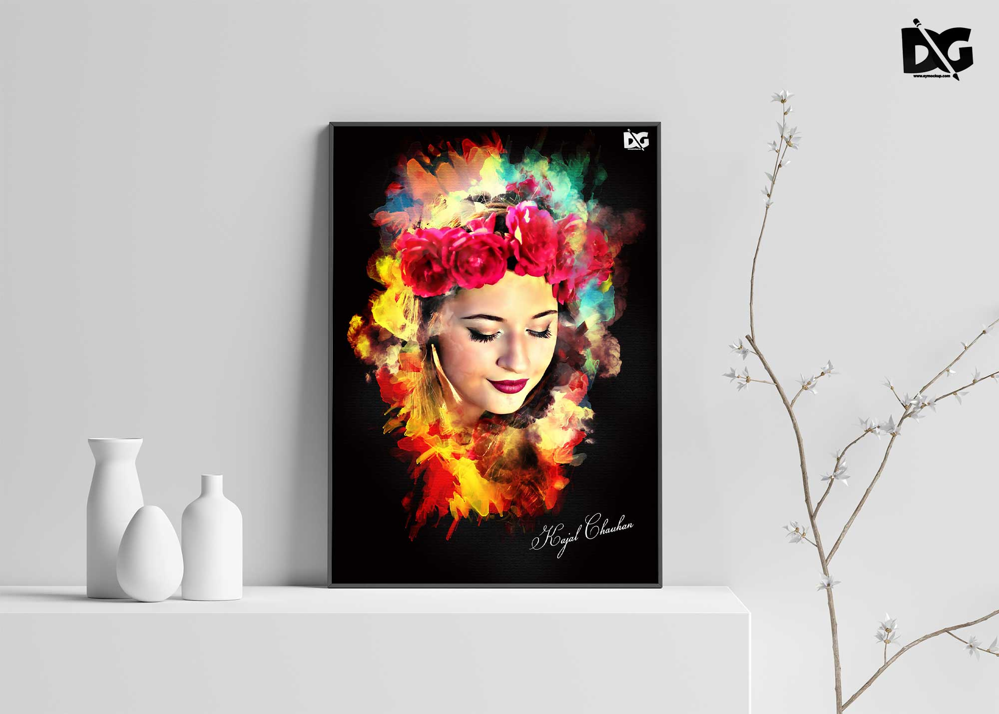 Creative Premium Art Effect PSD
