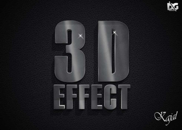 Free 3D Text Effect Download
