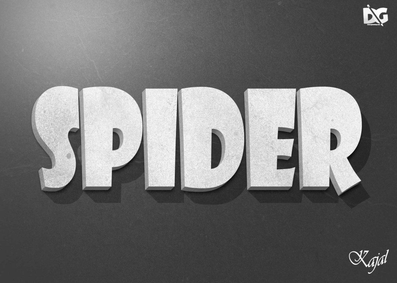 3d text effect free download