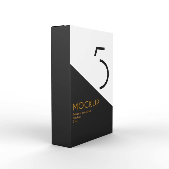 Premium Paper Packet Pakaging Mockup