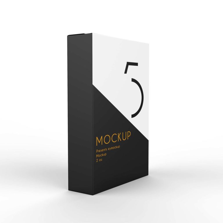 Premium Packet Pakaging Mockup