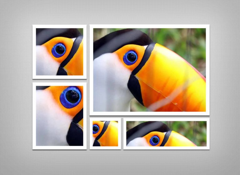 Photo Effects PSD Template