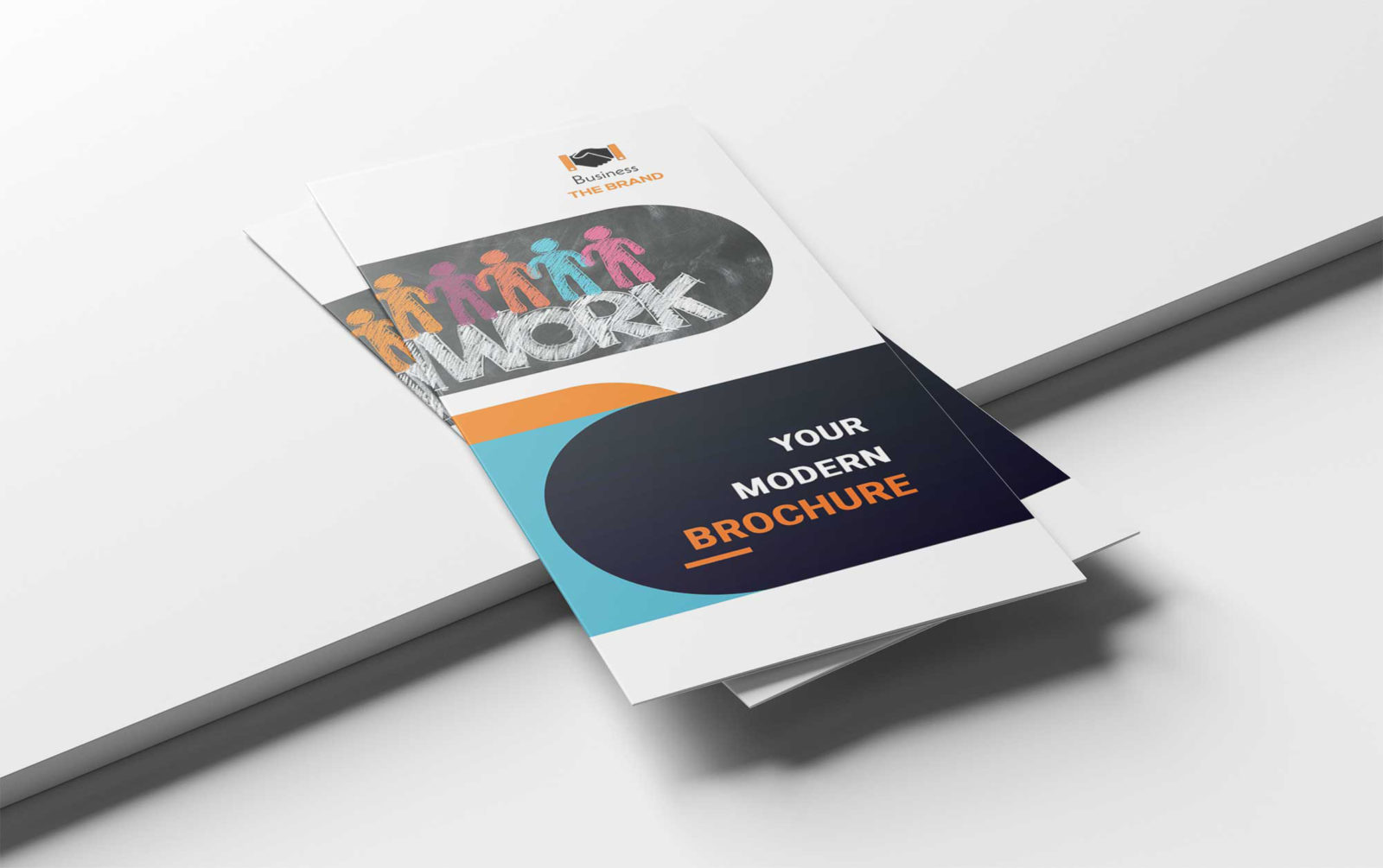 Corporate Tri-Fold PSD Brochure Template