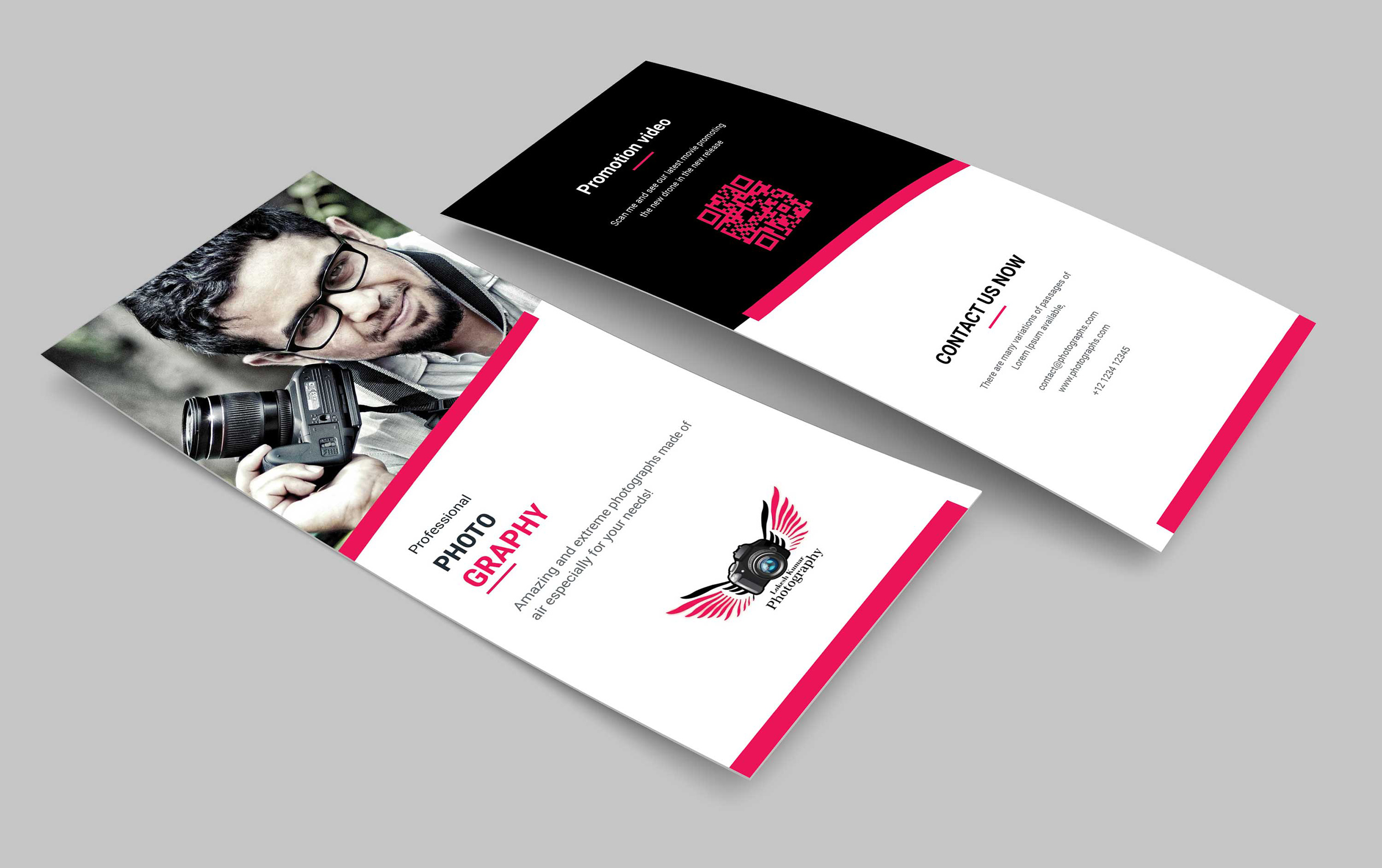 Photography Business PSD DL Brochure Template - 99Effects