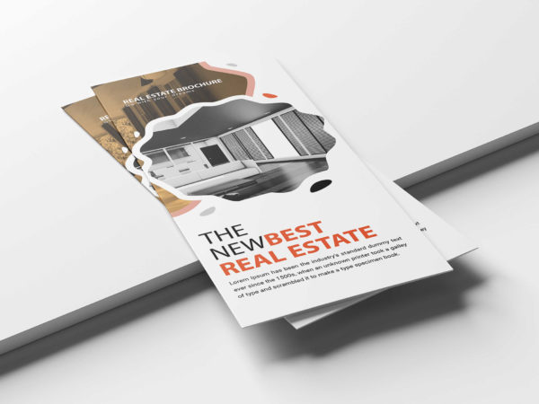 Real Estate PSD Tri-Fold Brochure Template