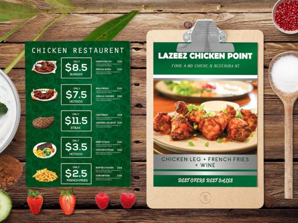 New Chicken Point PSD Template 2019