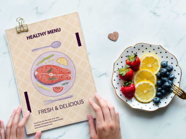 Premium Vintage Food Menu Design Template