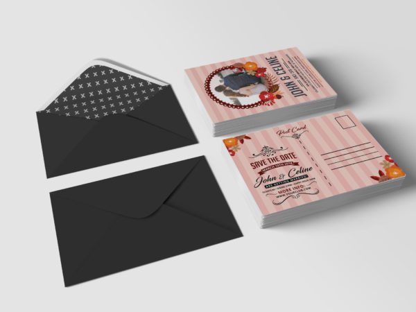 Chinese Wedding Invitation Design Template