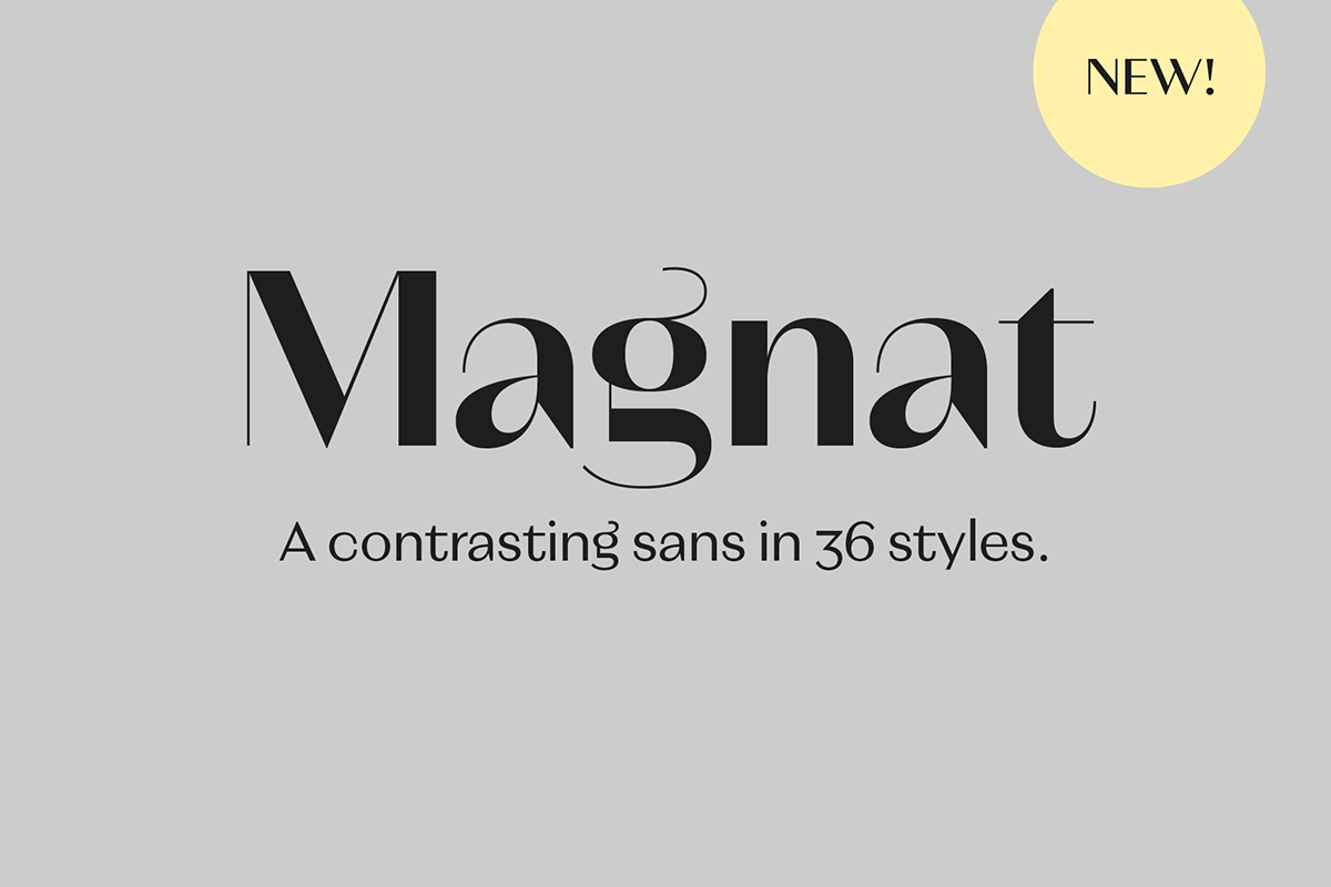 Beautiful Magnat Font Family