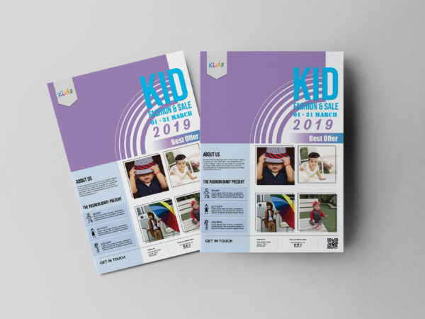 Baby Flyer Design Template