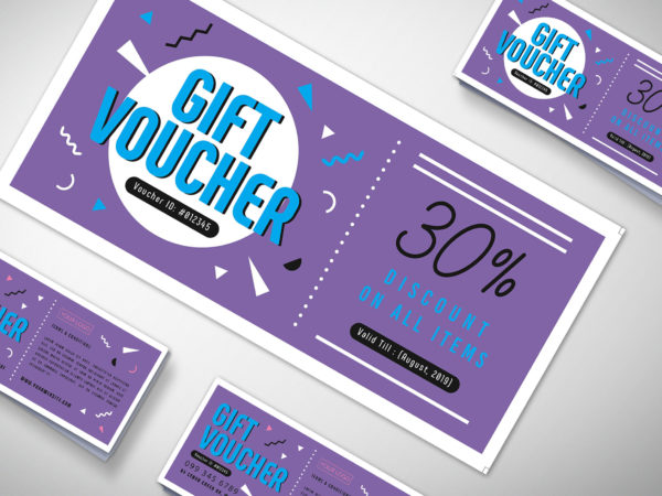 Salon Gift Voucher Design Template
