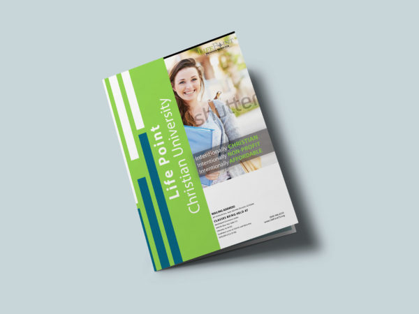 Event University Bi-Fold Brochure Design Template