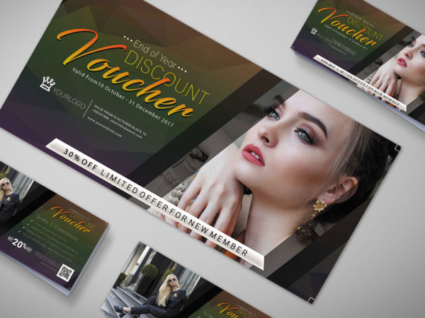 Gift Voucher Design Template