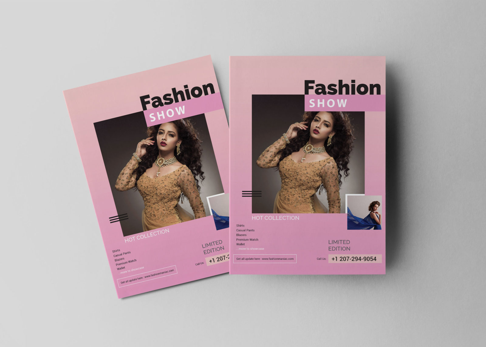 Fashion Show Flyer Design Template