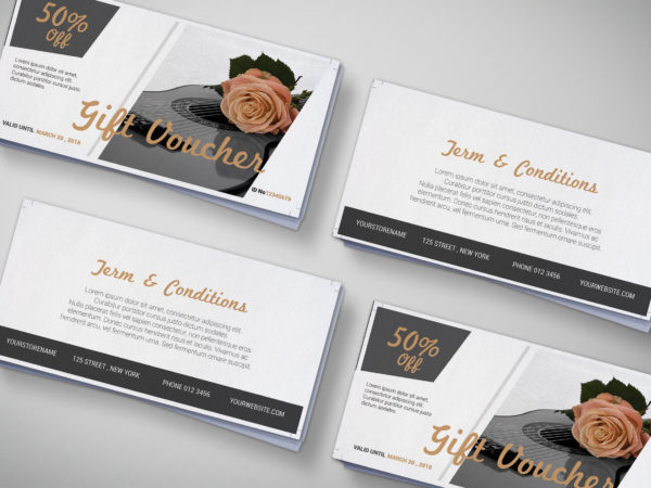 Gift Shop Gift Voucher Design Template