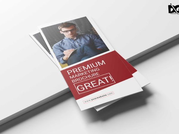 Marketing Business Tri Fold Brochure Design Template