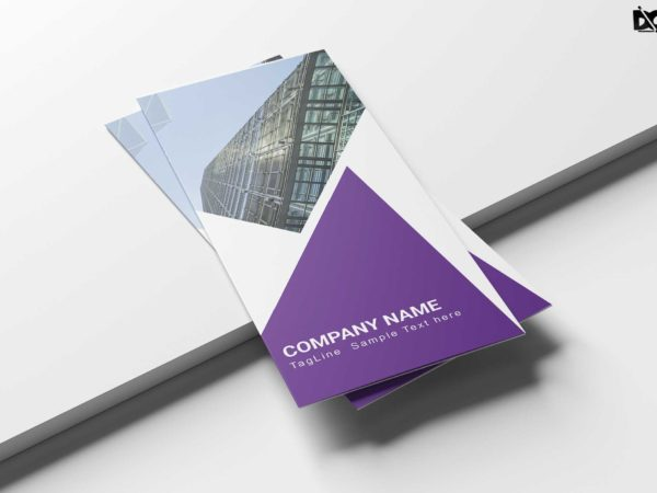 Marketing Consultants Business Tri-Fold Brochure Design Template