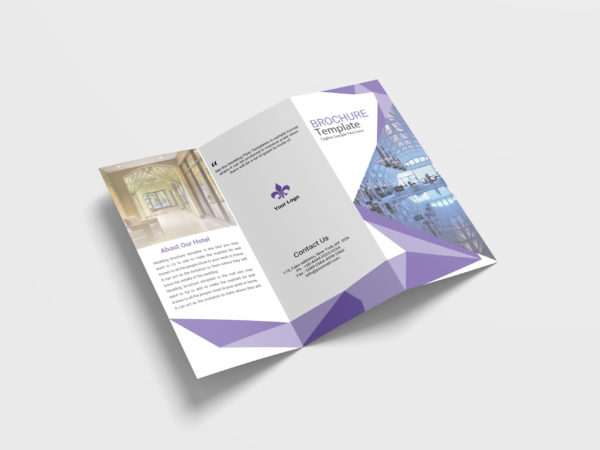 Multimedia Business Tri-Fold Brochure Design Template