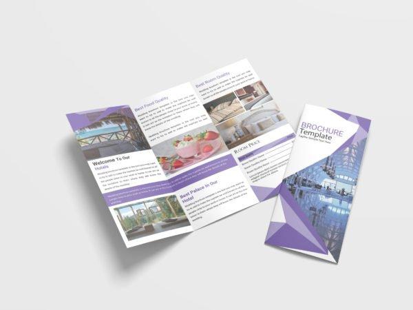 Multimedia Tri-Fold Brochure Design Template