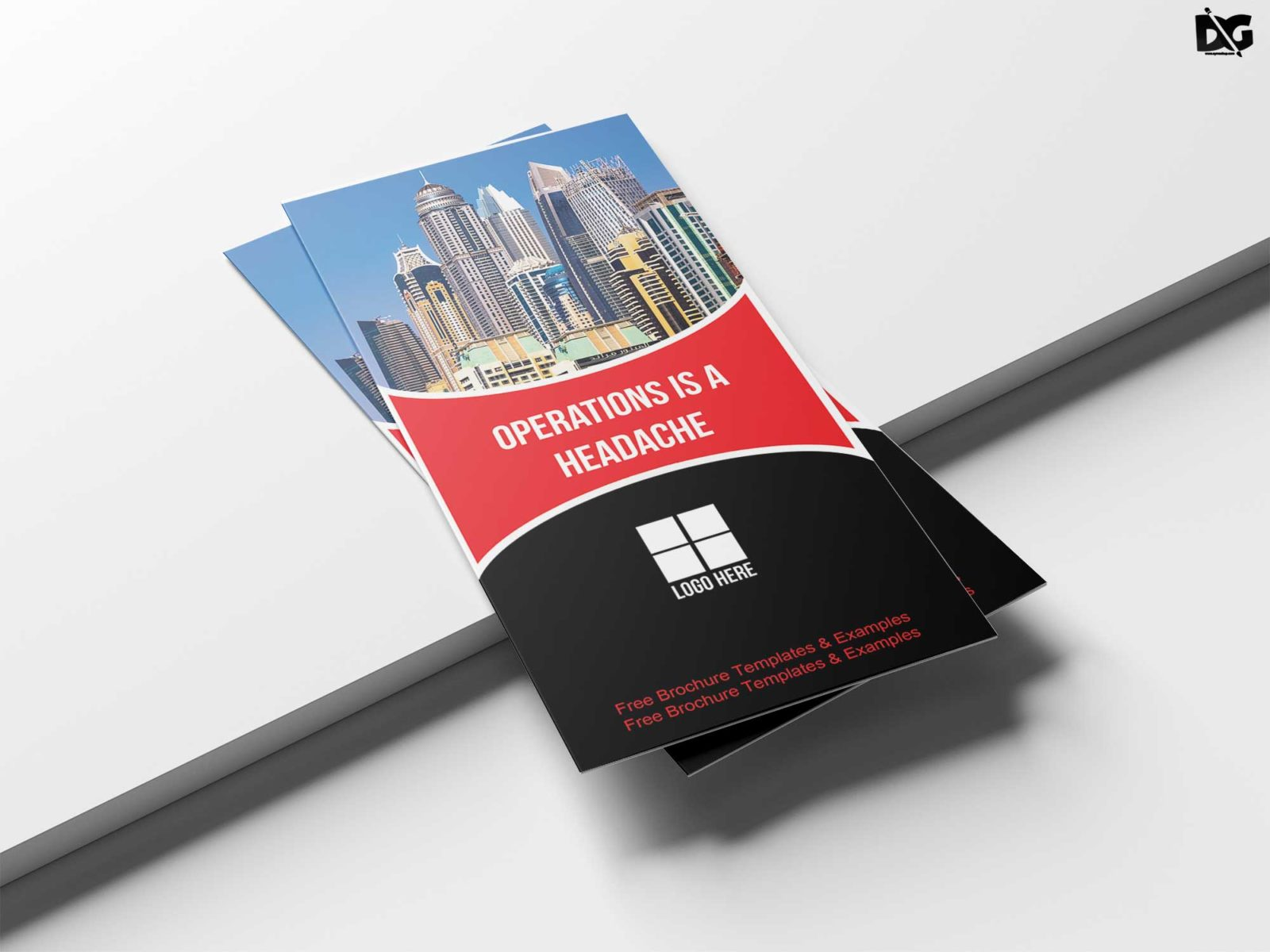 Professional Business Tri Fold Brochure Design