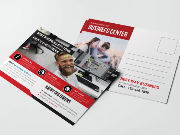 Publisher Postcard Design Template