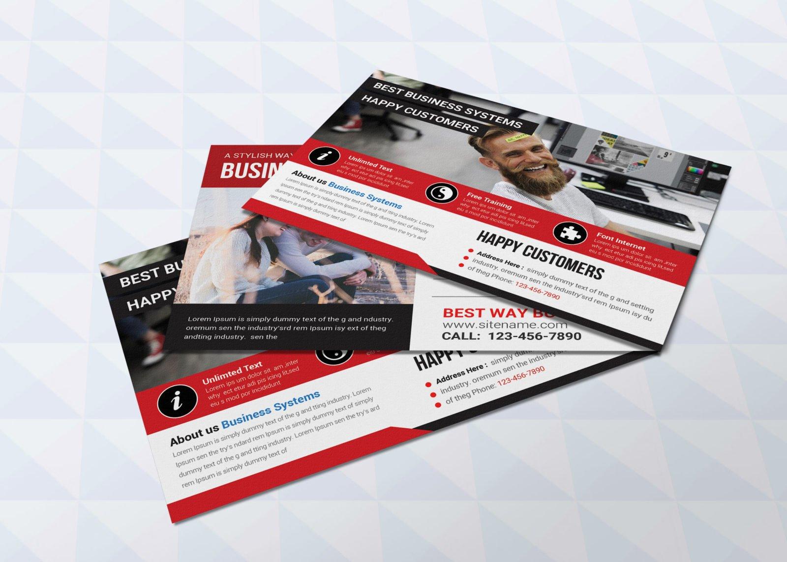Publisher Postcard Design Template