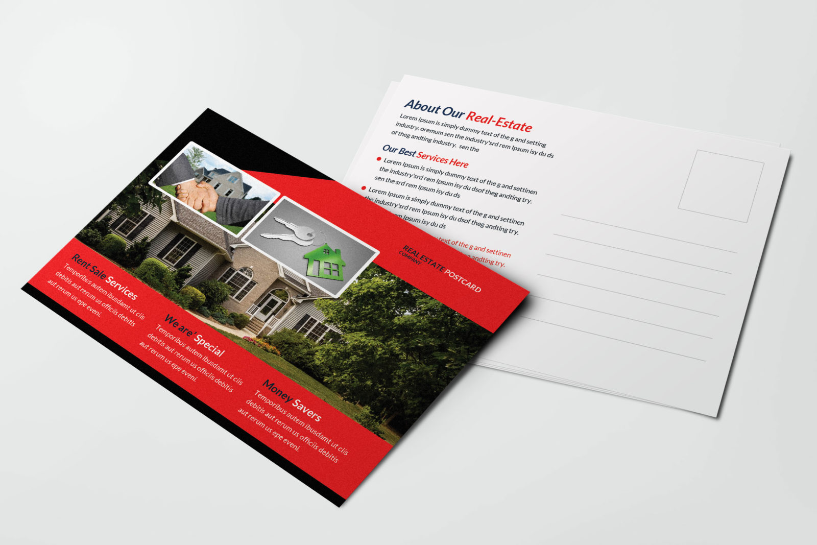 Realtor Postcard Design Template