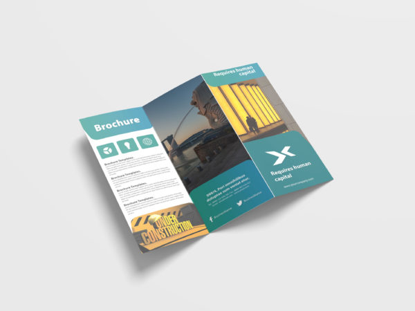 Agency Business Tri-Fold Brochure Design Template