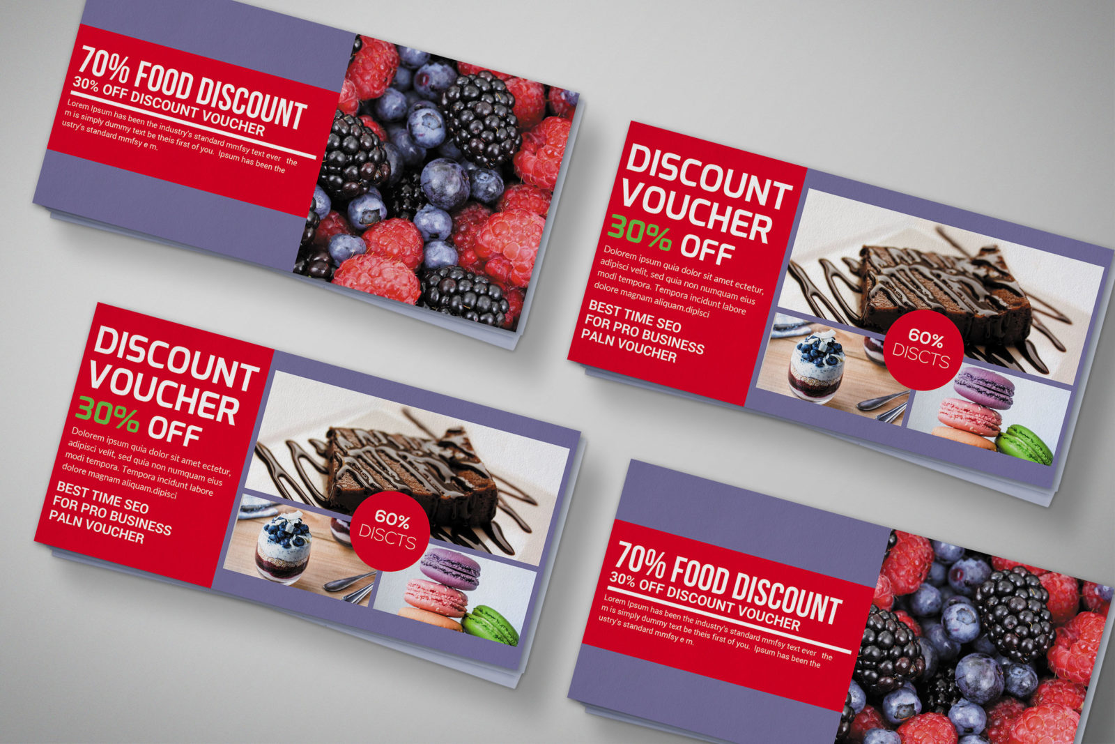 Discount Gift Voucher Design Template