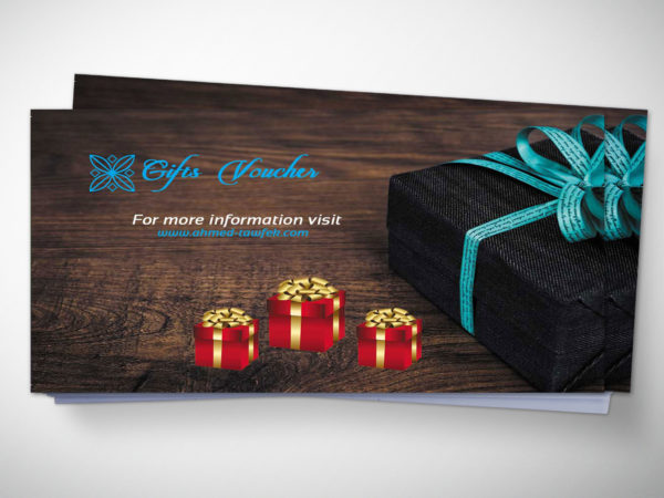 Supermarket Gift Voucher Design