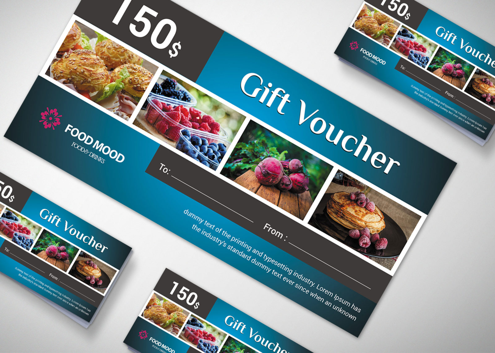 Restaurant Gift Voucher Design Template