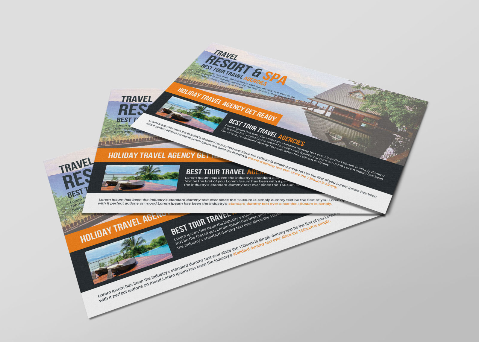 Postcards Design Template