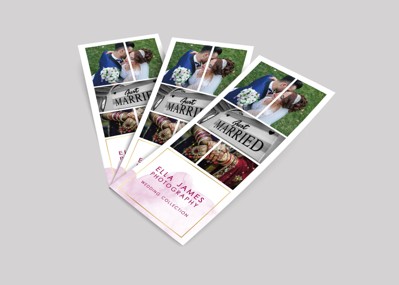 Photographer Rack Card Design Template