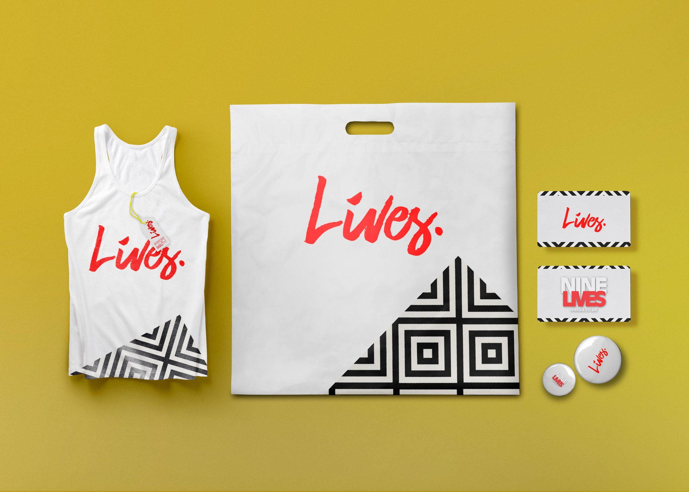 Shopping Bag Branding Mock-Up