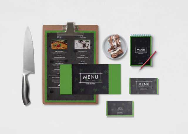 kitchen Branding Mockup