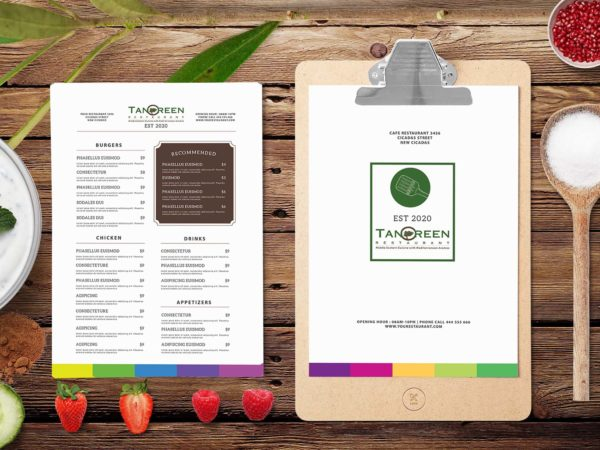 Awesome Restaurant Menu Design Templates