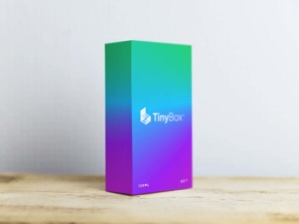 Smartphone Box Packaging Mockup