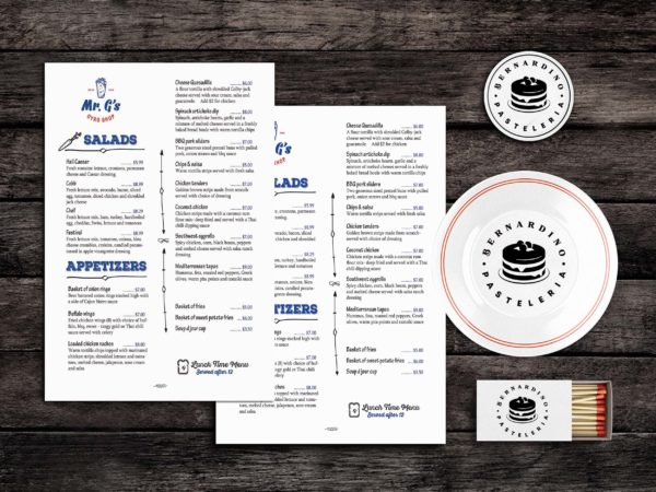 Food Menu Template PSD