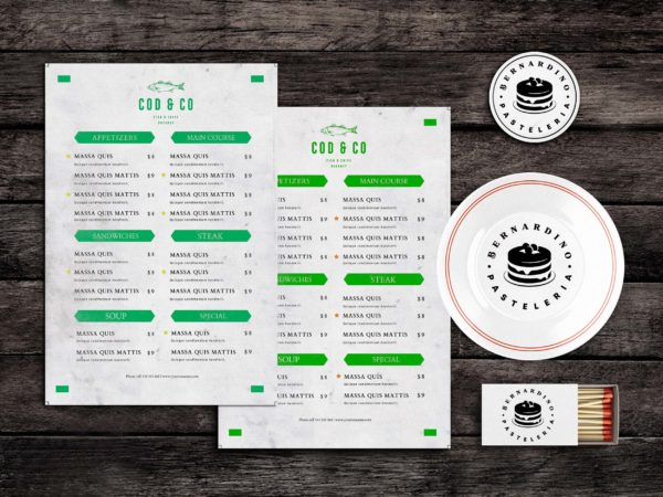 Bites Food Menu Template