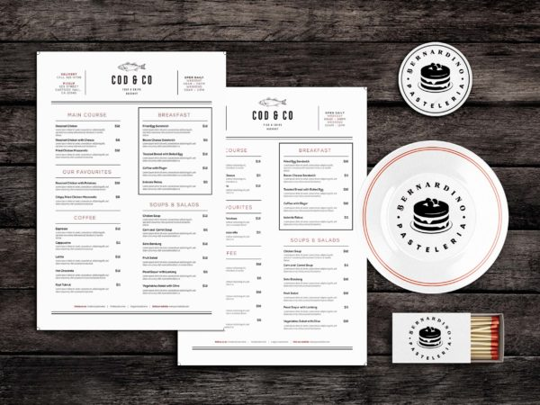 Unites Food Menu Template
