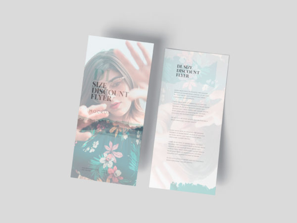 Beautiful Green DL Flyer Mockup