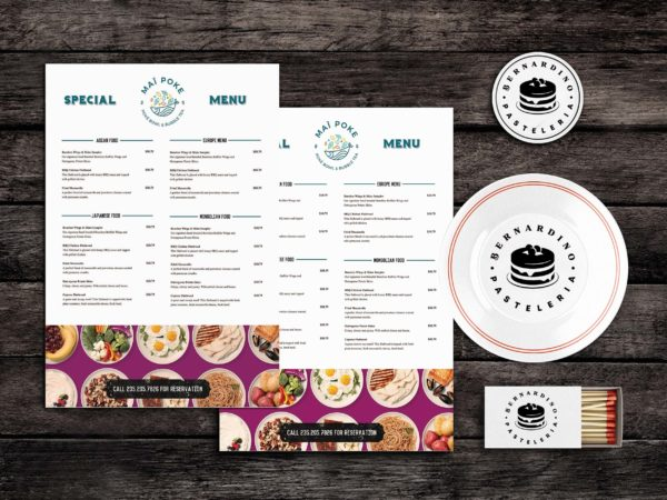 Sushis Menu Template
