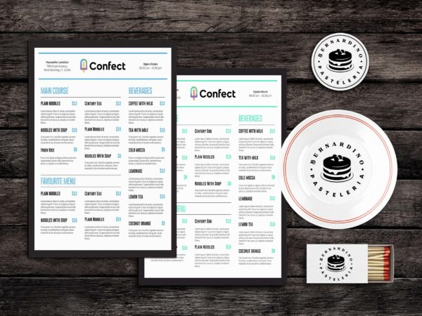 Quick Eats Food Menu Template