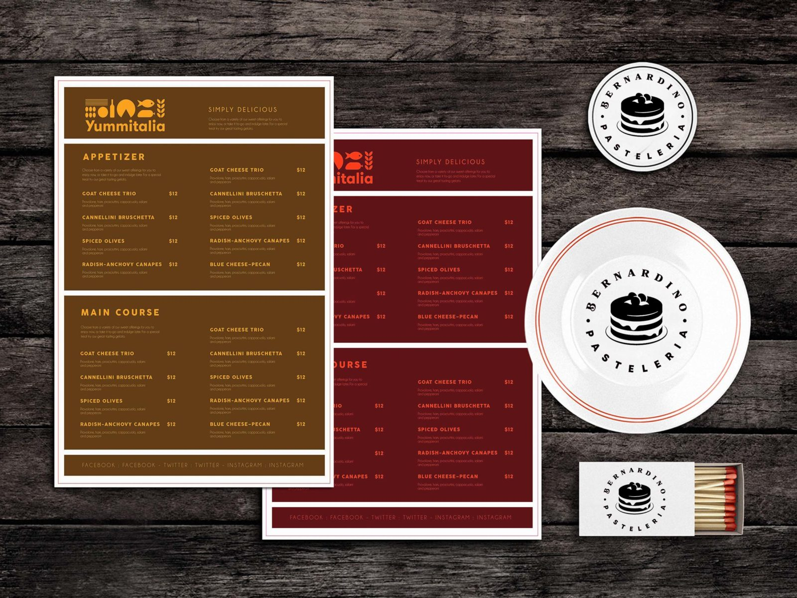 Food Menu Template