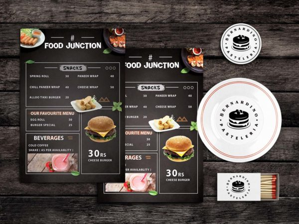 Sloppy Eats Food Menu Template