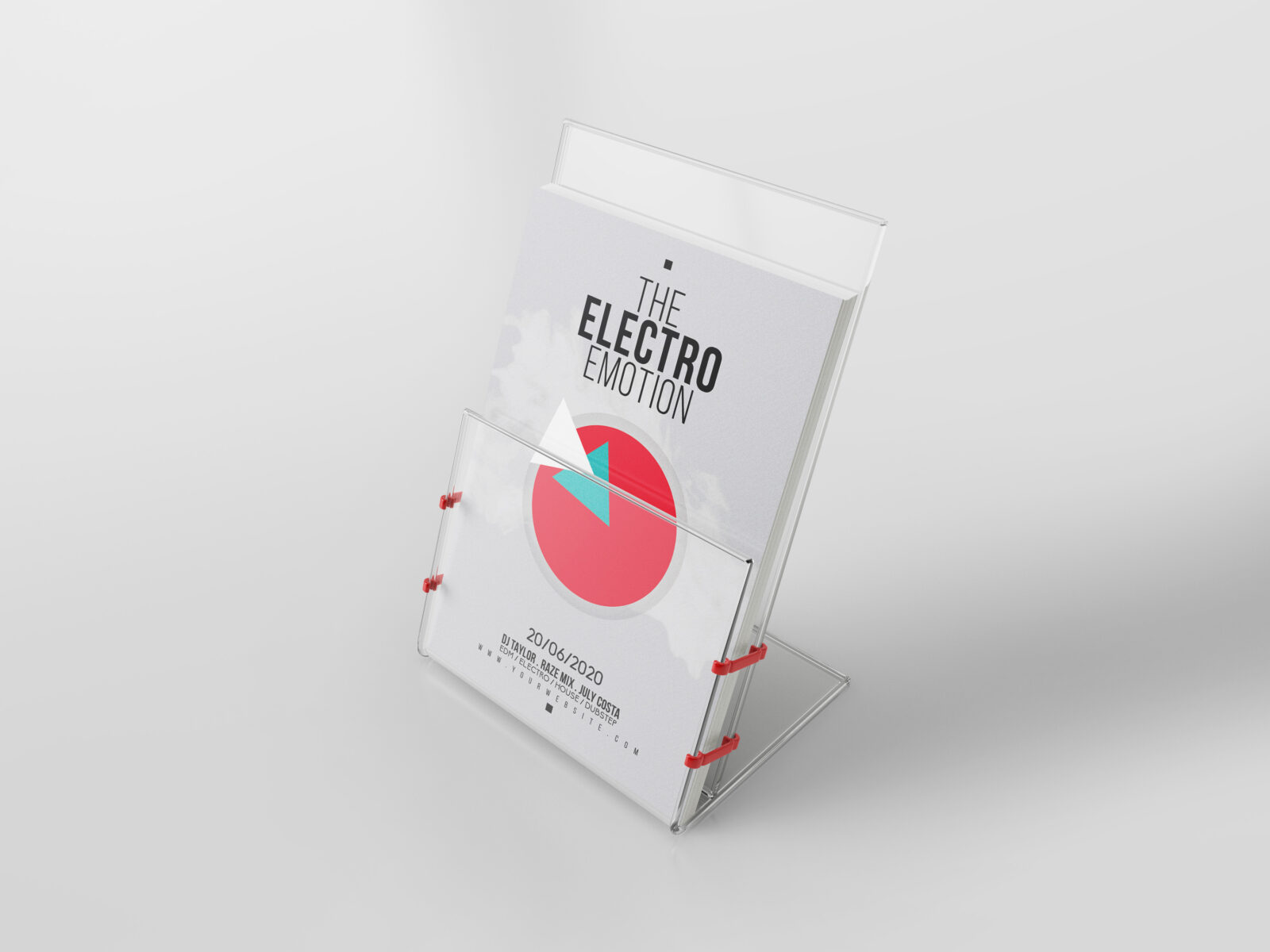 Electron Shape Flyer Template 2020