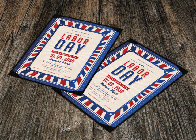 Labor Day Flyer Psd Template