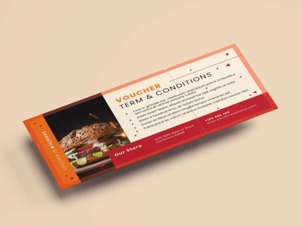 Discount Voucher Design Template