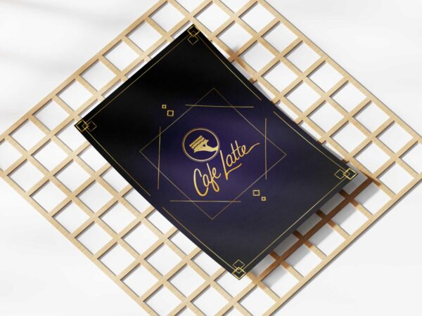 Golden Classic Menu Design Template