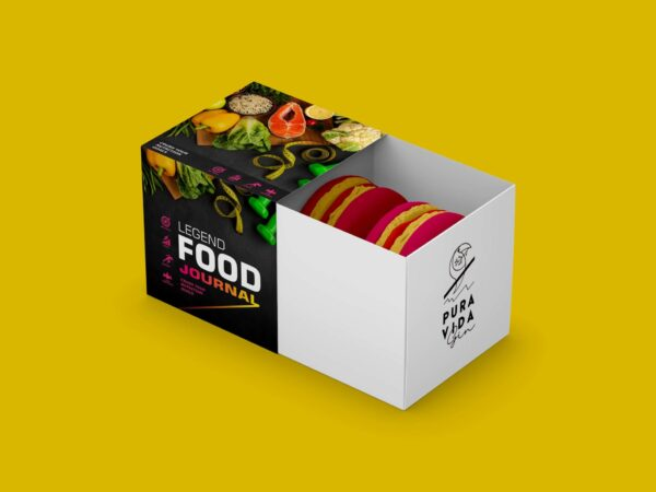 Awesome Bakery Slider Box Mockup